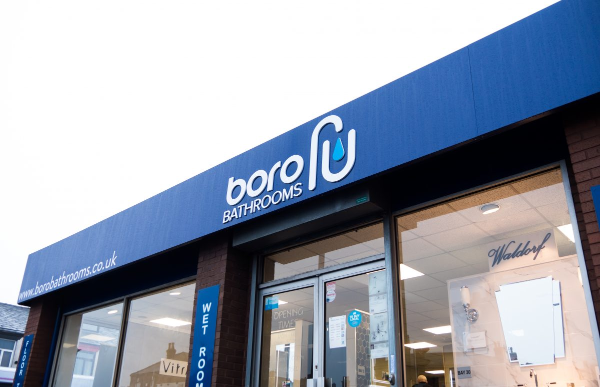 Front Store of Boro Bathrooms showroom