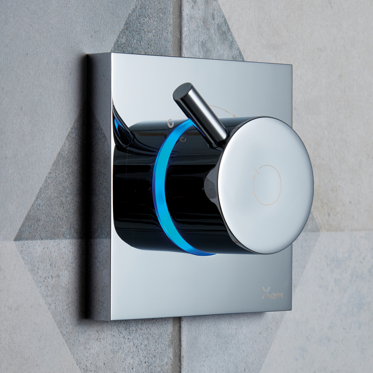 Digital Shower Dial