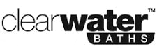 Clearwater Baths Text logo