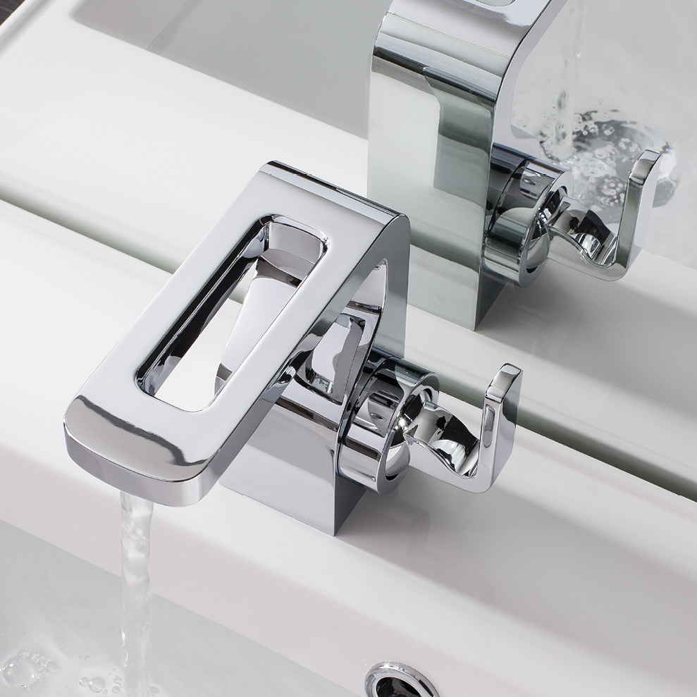 Metallic Bathroom Sink Tap